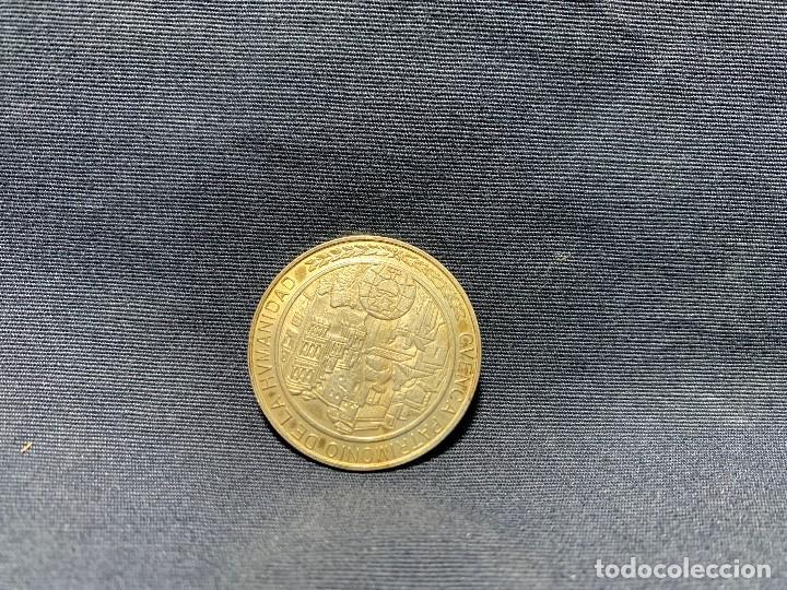 Medallas temáticas: MEDALLA CONVEXA CUENCA PATRIMONIO HUMANIDAD CAMARA OFICIAL 925 30MM - Foto 3 - 204811307