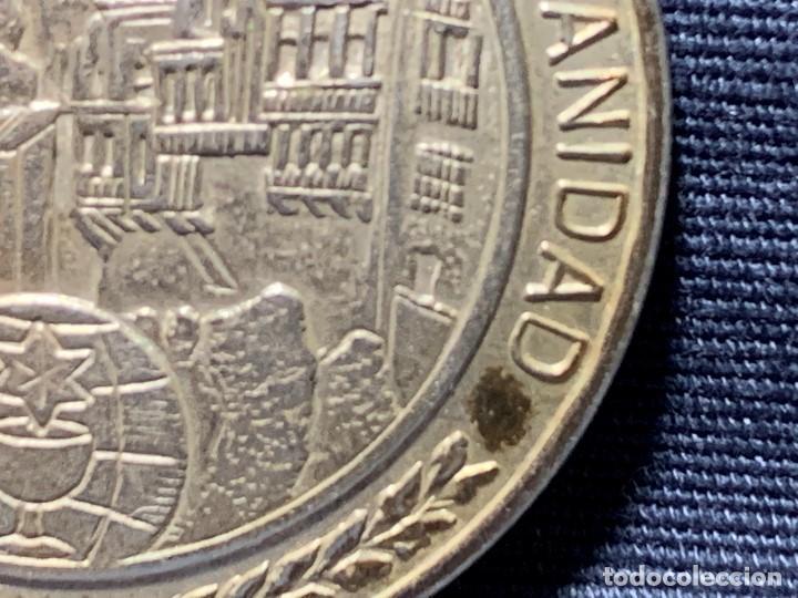 Medallas temáticas: MEDALLA CONVEXA CUENCA PATRIMONIO HUMANIDAD CAMARA OFICIAL 925 30MM - Foto 5 - 204811307