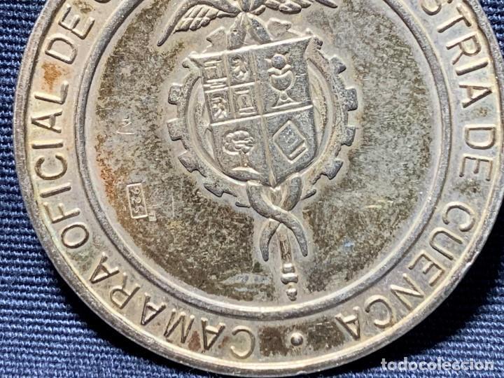 Medallas temáticas: MEDALLA CONVEXA CUENCA PATRIMONIO HUMANIDAD CAMARA OFICIAL 925 30MM - Foto 6 - 204811307