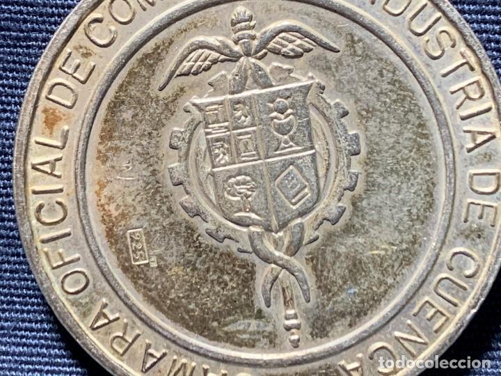 Medallas temáticas: MEDALLA CONVEXA CUENCA PATRIMONIO HUMANIDAD CAMARA OFICIAL 925 30MM - Foto 7 - 204811307