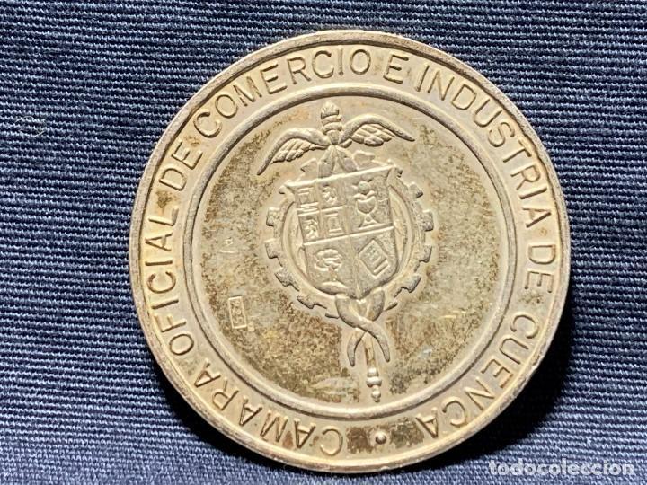 Medallas temáticas: MEDALLA CONVEXA CUENCA PATRIMONIO HUMANIDAD CAMARA OFICIAL 925 30MM - Foto 8 - 204811307