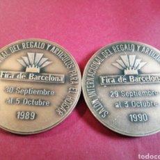 Medallas temáticas: MEDALLA EXPO HOGAR 89 Y 90. Lote 205082133