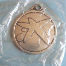 Medallas temáticas: MEDALLA LA CAIXA. CAJA DE AHORROS Y PENSIONES DE BARCELONA. AÑOS 90. A ESTRENAR. Lote 205187533