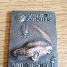 Medallas temáticas: MEDALLA X EXPOSICION FILATELICA BARCELONA DEL 24 AL 30 DE NOVIEMBRE DE 1968. Lote 205391251