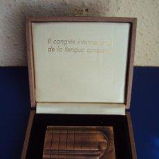 Medallas temáticas: (MED-200502)MEDALLA II CONGRÉS INTERNACIONAL DE LA LLENGUA CATALANA MCMVI-SUBIRACHS 1986. Lote 205793161