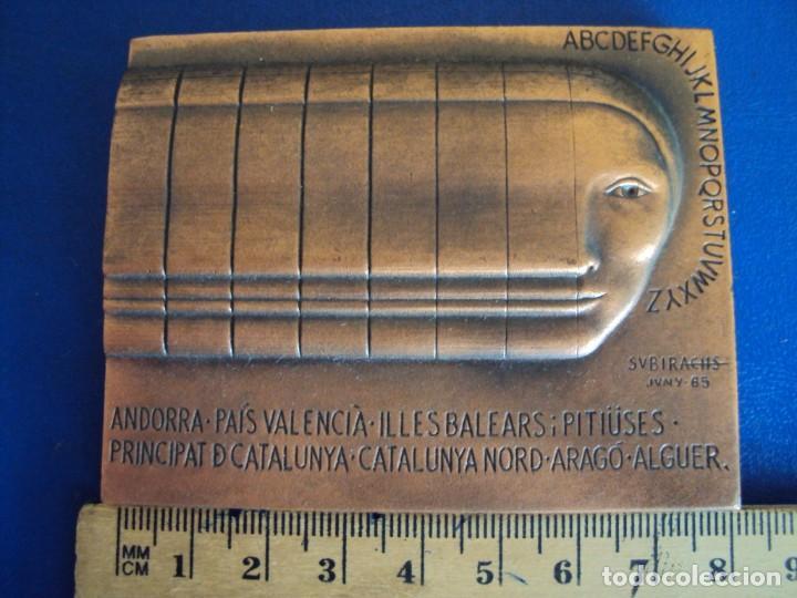 Medallas temáticas: (MED-200502)MEDALLA II CONGRÉS INTERNACIONAL DE LA LLENGUA CATALANA MCMVI-SUBIRACHS 1986 - Foto 3 - 205793161