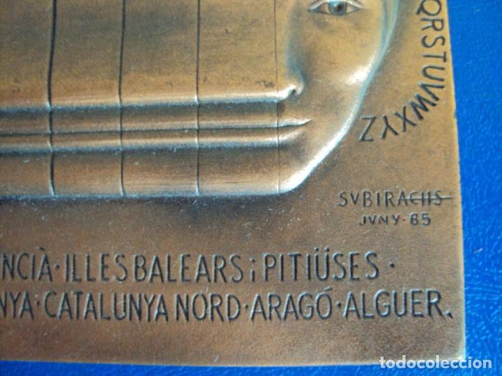 Medallas temáticas: (MED-200502)MEDALLA II CONGRÉS INTERNACIONAL DE LA LLENGUA CATALANA MCMVI-SUBIRACHS 1986 - Foto 4 - 205793161