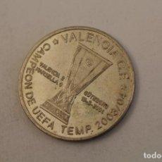 Medallas temáticas: VALENCIA C.F. CAMPEON DE UEFA TEMP.2003/04 - MONEDA EN PLATA DE LEY. Lote 206417537