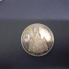 Medallas temáticas: CATEDRAL DE LAUSANA. MEDALLA DE PLATA PURA CONTRASTADA 999. Lote 206501531