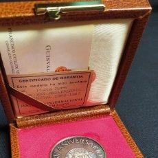 Medallas temáticas: MEDALLA XXV ANIVERSARIO MINIATURAS GUISVAL - 1962-1987 - PLATA PURA CON CERTIFICADO DE GARANTÍA. Lote 206774462