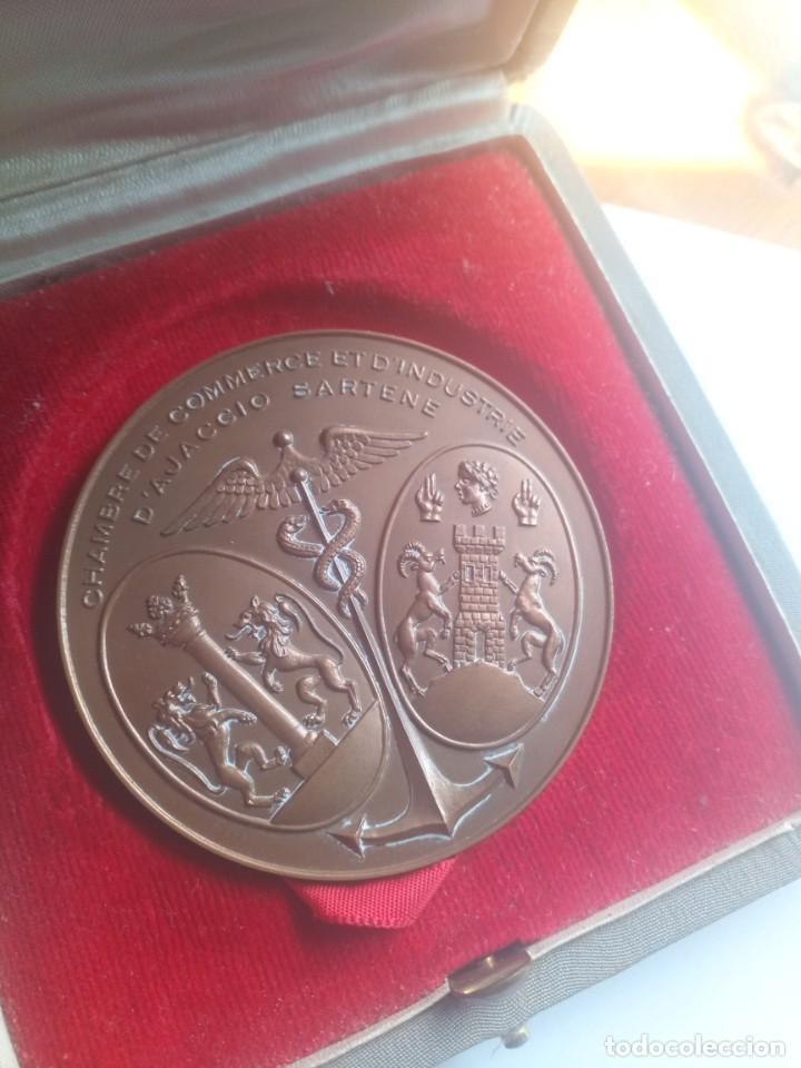 Medallas temáticas: Medalla bronce chambre comerce d industrie arrogante d ajaccio 1961 - Foto 2 - 206903695