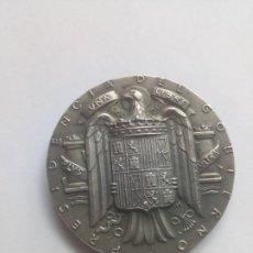 Medallas temáticas: MEDALLA PLATA ÁGUILA FRANCO PRESIDENCIA GOBIERNO GEOGRÁFICO Y CATASTRAL. Lote 206906862