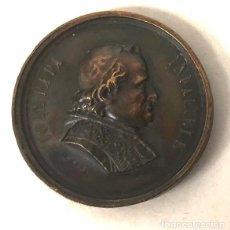 Medalhas temáticas: MEDALLA VATICANO. PIO IX PAPA INFALIBLE. ASIS. I ROMERIA ESPAÑOLA AL VATICANO. 16 OCTUBRE 1876. Lote 206981321