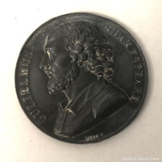 Medallas temáticas: MEDALLA GULIELMUS SHAKESPEARE. WILLIAM SHAKESPEARE. BARRE. RARA. Lote 206985856