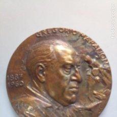 Medallas temáticas: MEDALLA FMNT BRONCE GREGORIO MARAÑÓN. Lote 207012868