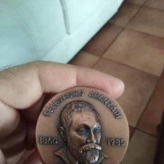 Medallas temáticas: MEDALLA TELESFORO ARANZADI 1860 1985 BERGARA AGARREKO GARAIXEA ABENDUA. Lote 207100086