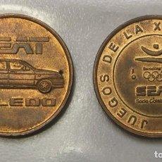 Medallas temáticas: SEAT TOLEDO, MEDALLA CON MOTIVO DE LOS JJOO DE BARCELONA 1992. Lote 207118861