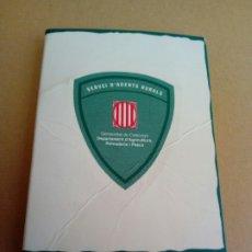 Medallas temáticas: PLACA CHAPA DEL SERVEI D'AGENTS RURALS GENERALITAT DE CATALUNYA. Lote 207135863