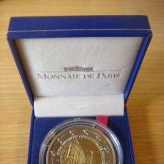 Medallas temáticas: BU LE CCF (CRÉDIT COMMERCIAL DE FRANCE) CÉLÈBRE L'AVÈNEMENT DE L'EURO. 1999. Lote 207143112