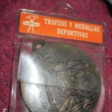 Medallas temáticas: VIRGEN DEL REMEDIO PATRONA DE ALICANTE MEDALLA ANTIGUA INAUGURACION POLIDEPORTIVO 1984 DIAMTRO 5 CM. Lote 207188370