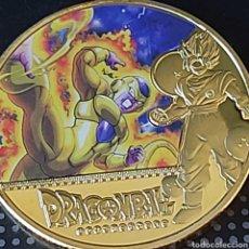 Medallas temáticas: EXCLUSIVA MONEDA DE ORO DE COLECCION DE DRAGON BALL - EDICIÓN LIMITADA -. Lote 207192815