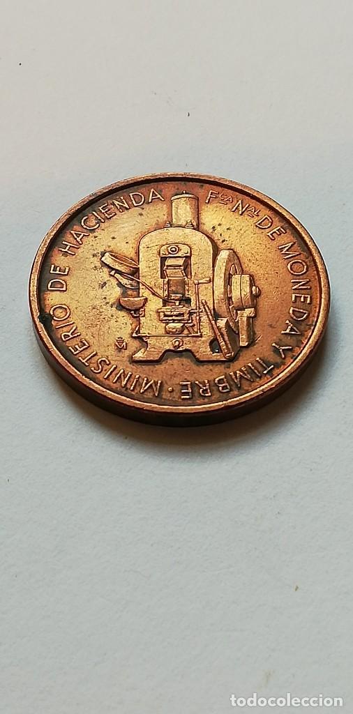 ANTIGUA MEDALLA JUVENALIA 80 FNMT (Numismática - Medallería - Temática)
