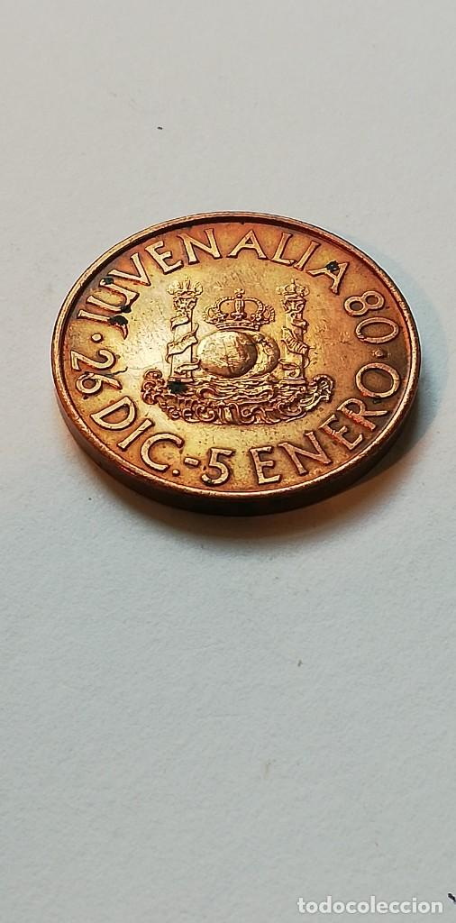Medallas temáticas: Antigua medalla Juvenalia 80 FNMT - Foto 2 - 207661805