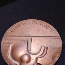 Medallas temáticas: MEDALLA: COMUNICACIONES - REALIZADA EN MADRID 1978 POR EL GRABADOR FAUSTO BLAZQUEZ. Lote 207855800