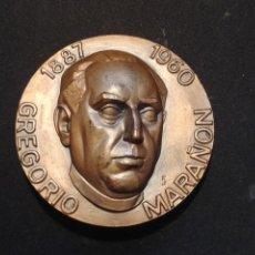 Medallas temáticas: MEDALLA: GREGORIO MARAÑON 1887 - 1960 / INTELLIGE CLAMOREM MEUN. Lote 207860832