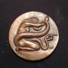 Medallas temáticas: MEDALLA: 1957 LA CELESTINA - FERNANDO DE ROJAS / GRABADOR MANUEL PRIETO - FNMT. Lote 207865446