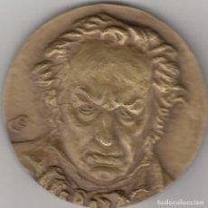Medallas temáticas: MEDALLA: 1996 FRANCISCO DE GOYA - 250 ANIVERSARIO - FUENDETODOS / GRABADOR ED. LUSATENAS. Lote 208334660