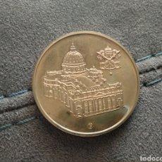 Medallas temáticas: MEDALLA TESOROS CIUDAD DEL VATICANO, EN COLOR, PAPA BENEDICTO XVI. Lote 208783803