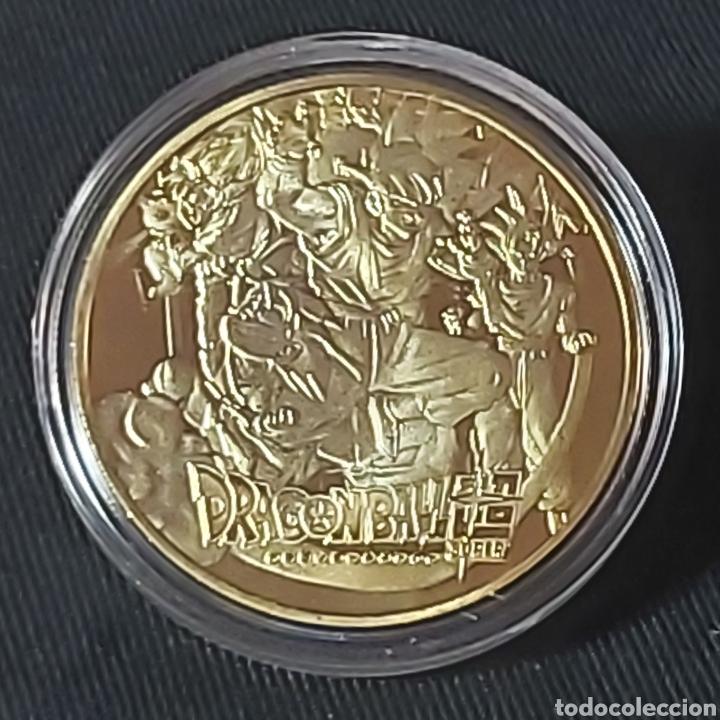 Medallas temáticas: MONEDA DE METAL COLECCIÓN DRAGON BALL - Foto 2 - 224482508