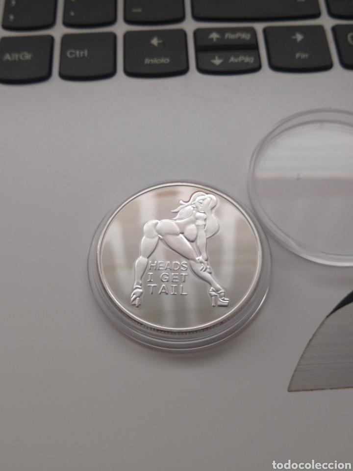 Medallas temáticas: Moneda Plata Chica Erótica Desnuda - Foto 2 - 209560792
