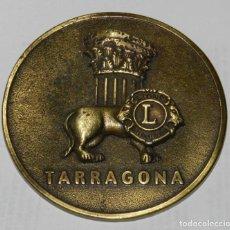 Medallas temáticas: MEDALLA DE LOS LIONS INTERNATIONAL, XXXIII CONVENCION NACIONAL DE CLUBES DE LEONES DE ESPAÑA, TARRAG. Lote 209793381