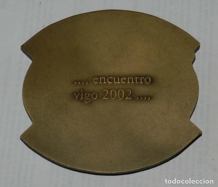 Medallas temáticas: MEDALLA DE LOS LIONS INTERNATIONAL, XXXV CONVENCION NACIONAL DM 116, VIGO - MAYO 2002, MIDE 8,5 CMS. - Foto 2 - 209794238