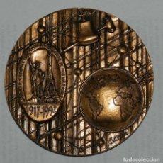 Medallas temáticas: MEDALLA DE LOS LIONS INTERNATIONAL, LIONS CLUB, FUND, RAISING, ACTIVITY, AÑO 1992, FIRMADA POR R. IR. Lote 209794746