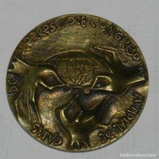 Medallas temáticas: MEDALLA DE DOCE CONGRESO MUNDIAL DE CAJAS DE AHORROS, CONFEDERACION ESPAÑOLA DE CAJAS DE AHORROS 50. Lote 209795470