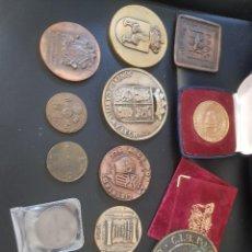 Medallas temáticas: LOTE DE MONEDAS. Lote 209898001