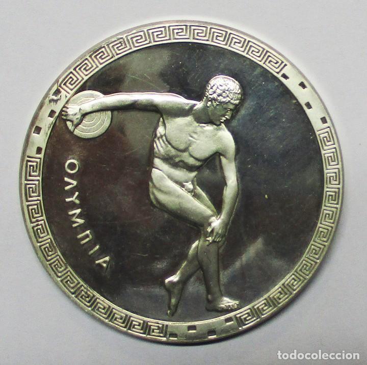 ALEMANIA. OLIMPIADAS DE MUNICH 1972. PRECIOSA MEDALLA DE PLATA PURA 999,9 . LOTE 0118 (Numismática - Medallería - Temática)