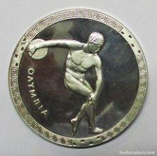 Medallas temáticas: ALEMANIA. OLIMPIADAS DE MUNICH 1972. PRECIOSA MEDALLA DE PLATA PURA 999,9 . LOTE 0118. Lote 209908522