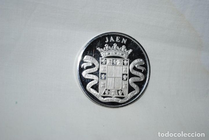 MEDALLA DE JAEN , ACUÑACIONES IBERICAS . (Numismática - Medallería - Temática)
