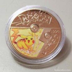 Medallas temáticas: MONEDA DE COLECCIÓN POKEMON. COMPLETA TU COLECCIÓN.. Lote 210062378