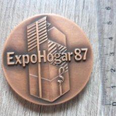 Medallas temáticas: MEDALLA EXPOHOGAR 1987. Lote 210167036