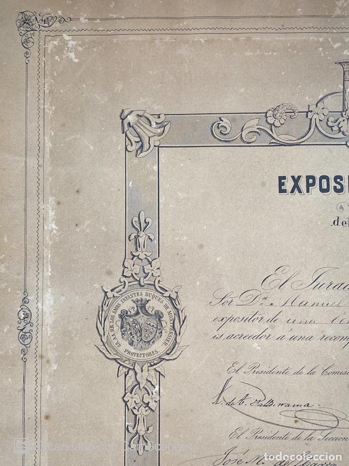 Medallas temáticas: EXPOSICION PUBLICA SEVILLANA. SEVILLA, 1858. MEDALLA DE PLATA. D. MANUEL GROSSO. VER FOTOS - Foto 4 - 210193615