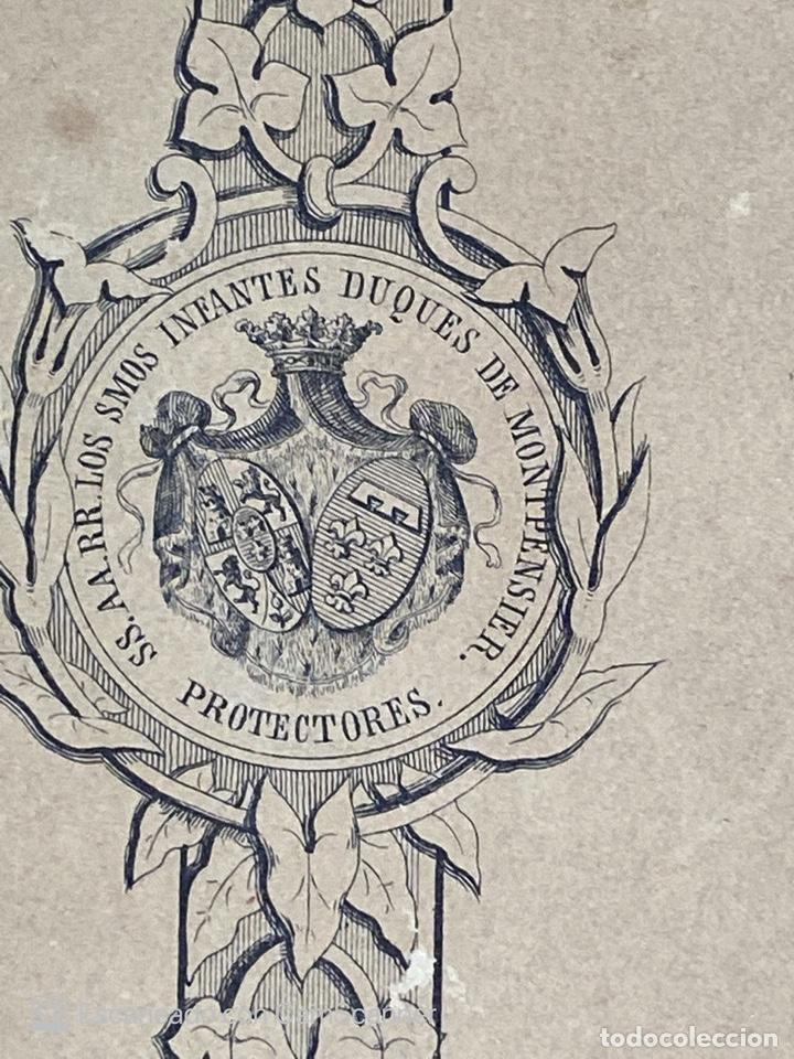 Medallas temáticas: EXPOSICION PUBLICA SEVILLANA. SEVILLA, 1858. MEDALLA DE PLATA. D. MANUEL GROSSO. VER FOTOS - Foto 5 - 210193615