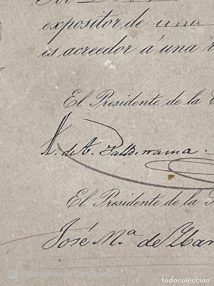 Medallas temáticas: EXPOSICION PUBLICA SEVILLANA. SEVILLA, 1858. MEDALLA DE PLATA. D. MANUEL GROSSO. VER FOTOS - Foto 13 - 210193615