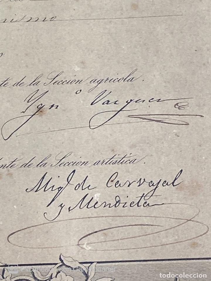 Medallas temáticas: EXPOSICION PUBLICA SEVILLANA. SEVILLA, 1858. MEDALLA DE PLATA. D. MANUEL GROSSO. VER FOTOS - Foto 18 - 210193615