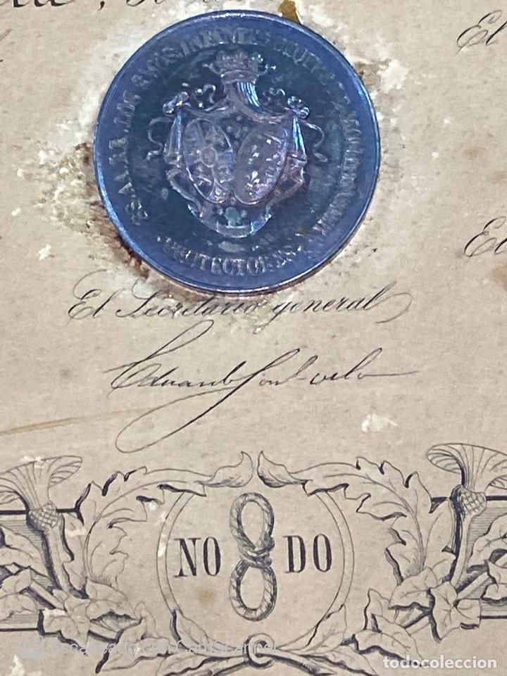 Medallas temáticas: EXPOSICION PUBLICA SEVILLANA. SEVILLA, 1858. MEDALLA DE PLATA. D. MANUEL GROSSO. VER FOTOS - Foto 19 - 210193615