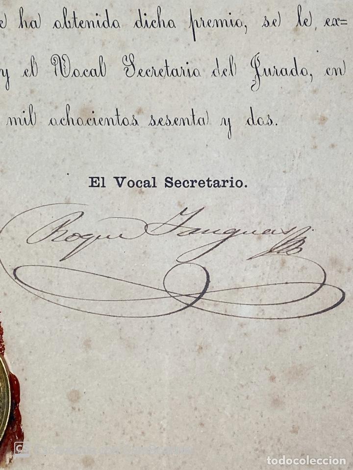 Medallas temáticas: EXPOSICIÓN PÚBLICA ARTÍSTICA E INDUSTRIAL. CADIZ, 1862. MEDALLA A D. MANUEL GROSSO. VER FOTOS - Foto 10 - 210194257